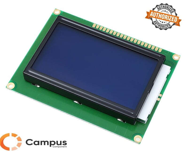 128x64 (S) LCD Blue Backlight-LC-544-D