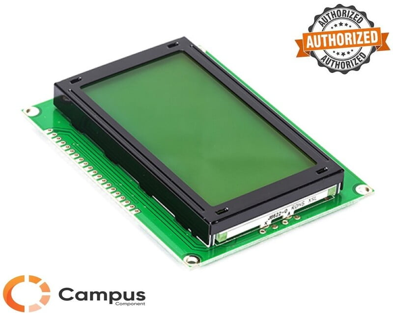 128x64 (S) LCD Yellow Green Backlight-LC-543-D