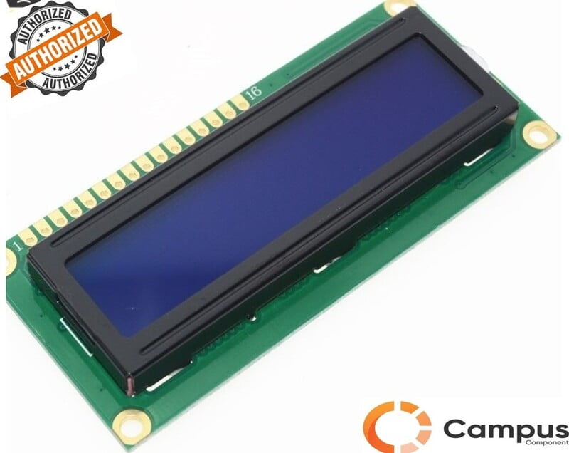 16x2 (S) LCD Blue Backlight Low Height-LC-538-D