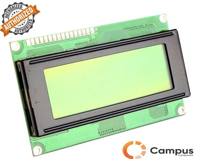 20x4 (S) LCD Yellow Green Backlight-LC-541-D