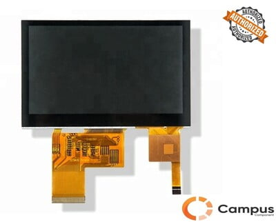 4.3 inch(S) CTP TFT Display-LC-654-D