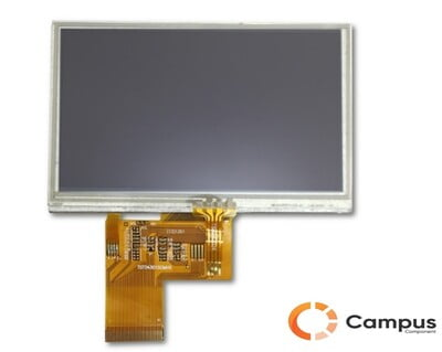 4.3 Inch (S) TFT Display RTP-LC-546-D