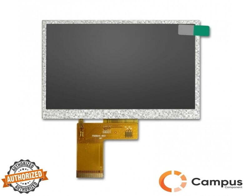 5 inch(S) Resistive Touch TFT Display - LC-100139-D