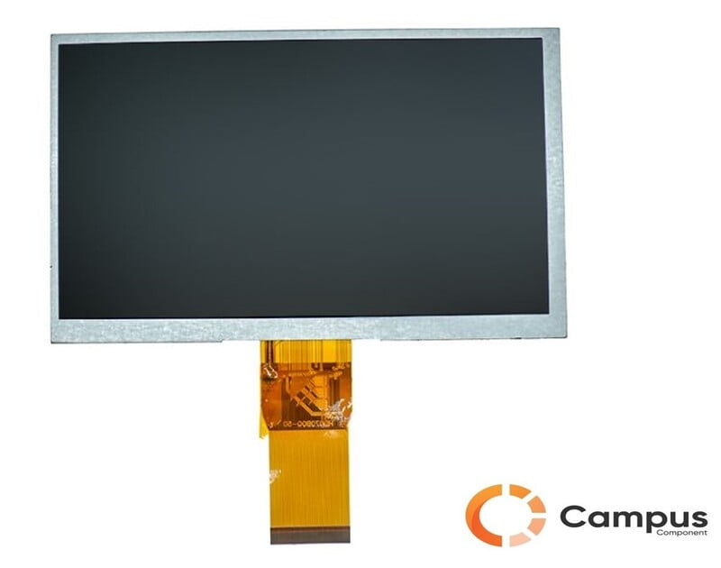 7 Inch (S) Resistive Touch TFT Display-LC-565-D
