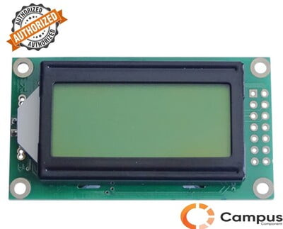 8X2 (S) Yellow/Green LCD Display-LC-551-D