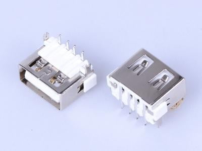A Female Dip 90 USB Connector L10.0mm UBX1 - CO-1888-D