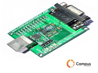 CP 2102 USB to Serial Converter Board-IN-182-D