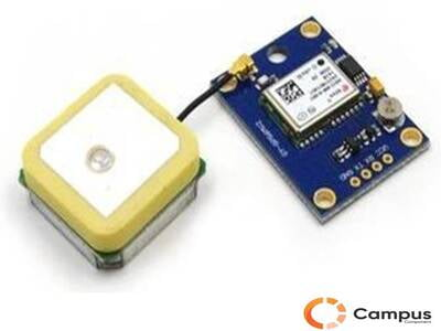 GPS Module with EEPROM for MWC / AeroQuad with Antenna for Flight Control-AR-980-D
