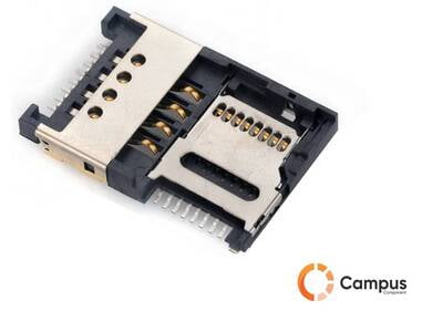 Combo_SIM card and SD card holder-SI-555-D