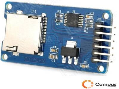 Micro SD Card Holder Module-AR-152-D