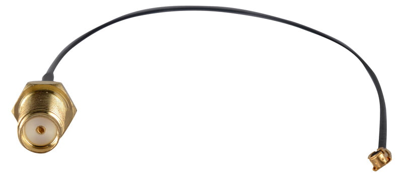 Rf Cable (Black) 15cm Antenna-AN-98-D