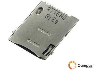SIM Card Socket Push-SI-402-D